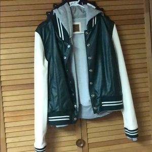 JJD Letterman jacket great condition. Size medium